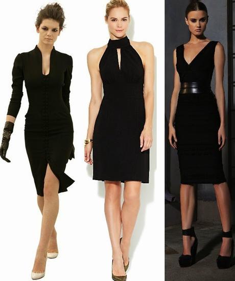 Vestidos negros cortos y elegantes - Paperblog