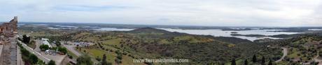 El gran lago de Alqueva
