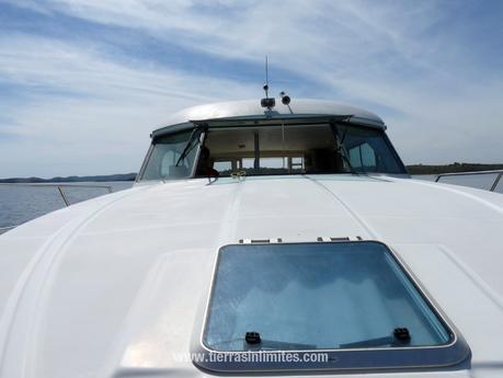 Barco-casa en Amieira Marina
