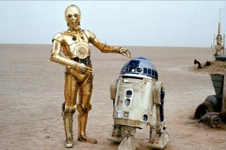 R2D2 y C3PO-