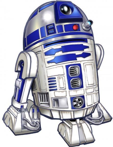 R2-D2 Drawing