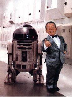 Keny Baker y R2-D2