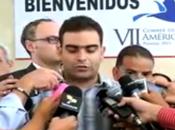 Cubanos solicitan expulsión terrorista Cumbre Panamá video]