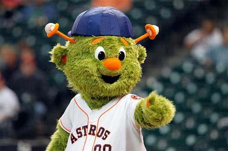 Orbit, mascota de los Astros de Huston