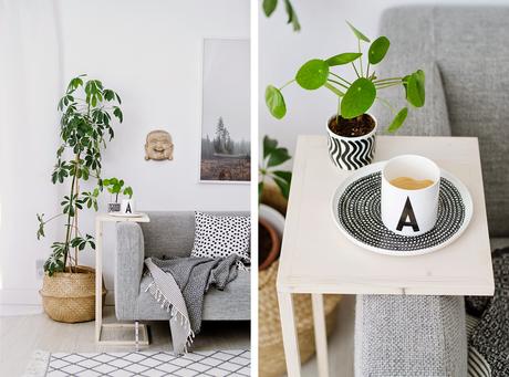 Diy mesita auxiliar para sof paperblog - Mesita auxiliar sofa ...