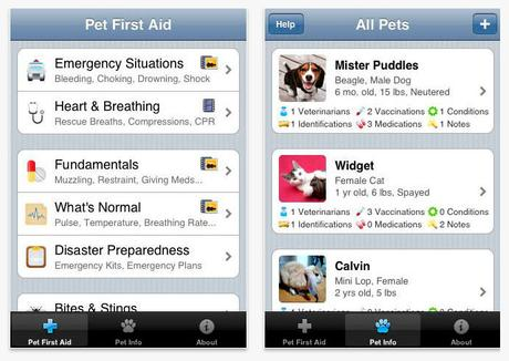 App Pet First Aid