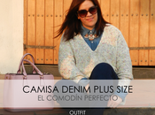 Camisa Denim Plus Size Outfit
