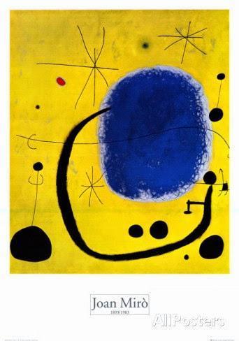 Joan Miro l'oro dell azzurro