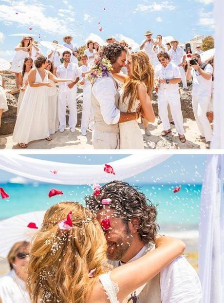 Matrimonio Catolico En La Playa : Fantásticas ideas para matrimonios en la playa paper
