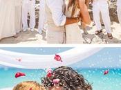 Fantásticas ideas para matrimonios playa