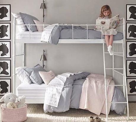 Claves para decorar dormitorios infantiles y juveniles con for Habitaciones para ninas con literas