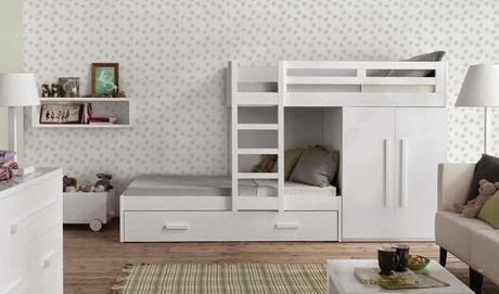 Claves para decorar dormitorios infantiles y juveniles con literas paperblog - Decorar dormitorios infantiles ...