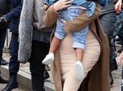 Kardashian Kanye West bautizan hija Jerusalén