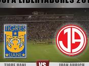 Juan Aurich Tigres vivo Copa Libertadores trasmision internet online
