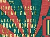 Granja Festival 2015: Julián Maeso, Devils, Hermana Morfina, Junior Mackenzie Suny