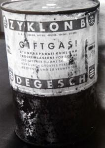 zykon B gas utilizado en la 'Solución Final' nazi