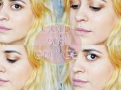 look: golden grunge