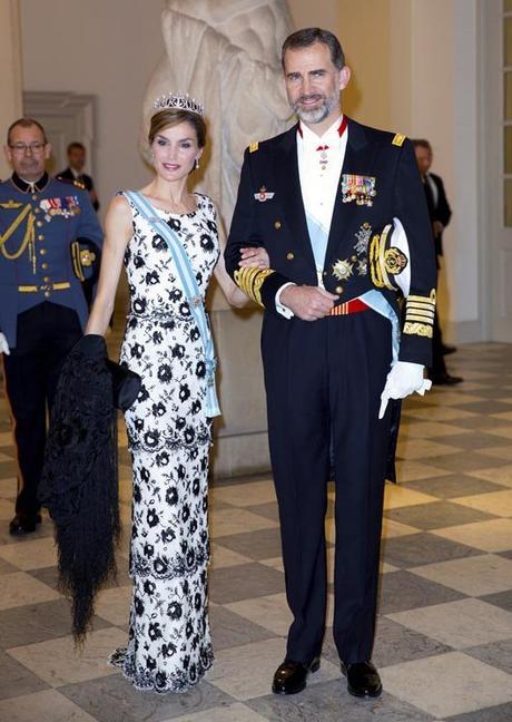 Reyes de España Felipe VI y Letizia