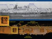 Portaaviones histórico Guerra Mundial encontrado sorprendentemente intacto.