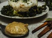 Arroz brócoli crema asado