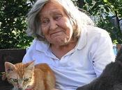 Ocho gatos, perro Margherita Hack