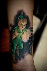 Resultado de imagen de peter pan tattoo