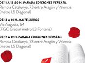 Horario firmas Sant Jordi Barcelona