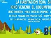 Fardelej Festival 2015: Habitación Roja, Kiko Veneno, Sidonie, Columpio Asesino, Jero Romero, Ángel Stánich...