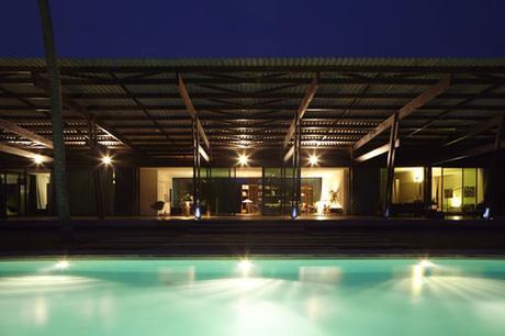 Pabellón de Bambú en Costa de Marfil, de Koffi & Diabaté Architectes