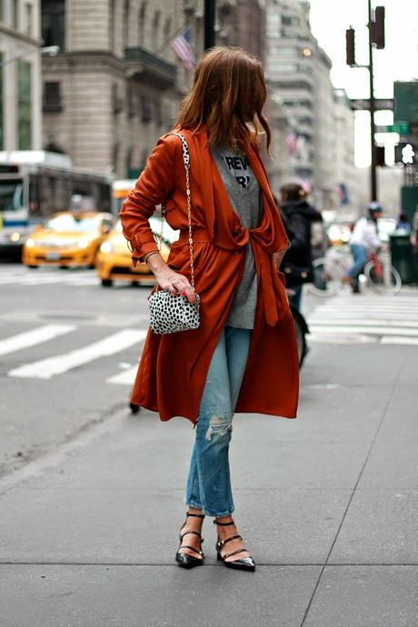 ORANGE TRENCH, 5th ave