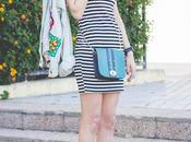 Mickey Mouse Stripes Dress