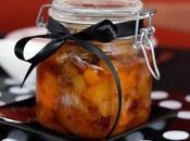 Compota manzana frutos secos