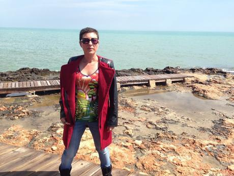 ashion, moda, tienda online asiática, tienda online, chaqueta, abrigo, faux leather, burgundy coat, coat, romwe,