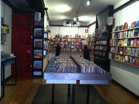 La librería Bajo El Volcán