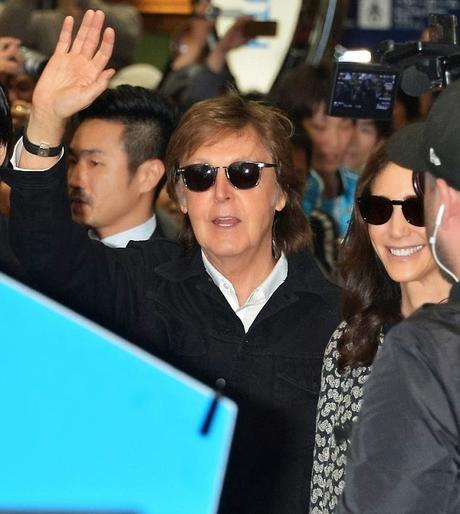PAUL McCARTNEY EN OSAKA, JAPÓN, ABRIL 21, 2015.