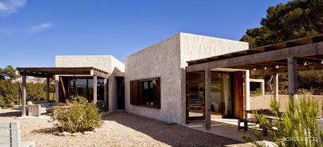 casa rustica moderna en formentera paperblog