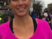 Embarazada corre maratón Boston