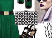 Look invitada boda vestido verde