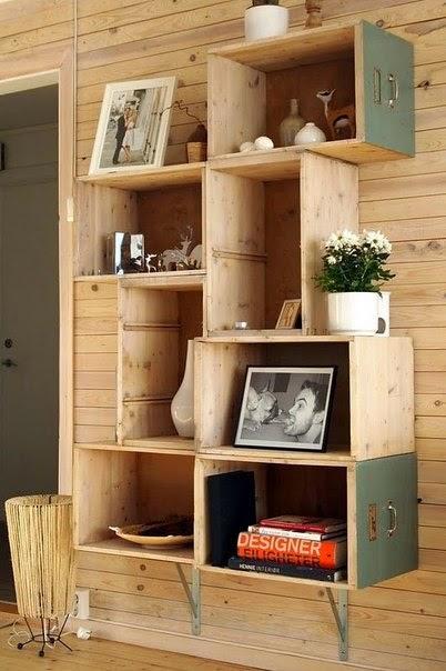 8 ideas útiles con cajas de madera   paperblog