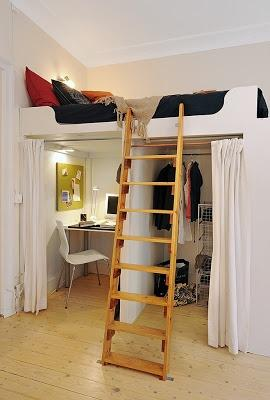 Tips para habitaciones peque as paperblog for Creative bed ideas for small spaces