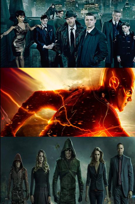 Videos Promocionales De Gotham S01E21, The Flash S01E20 Y Arrow S03E21