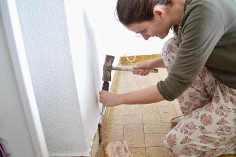 Diy el cambio del suelo de mi casa con las laminas de for Suelos parquet leroy merlin