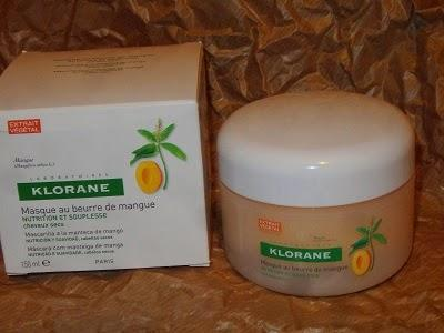 Mascarilla Reparadora Nutrición Intensa a la Manteca de Mango Klorane