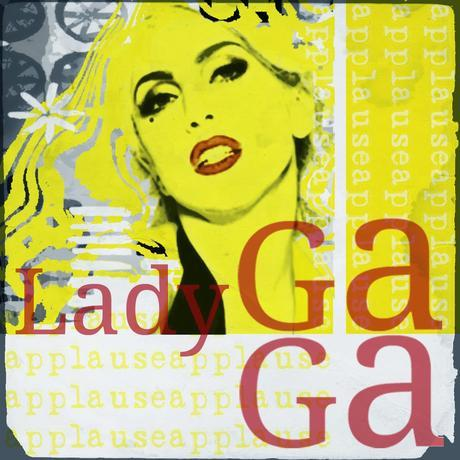 descargar poster pop art lady gaga