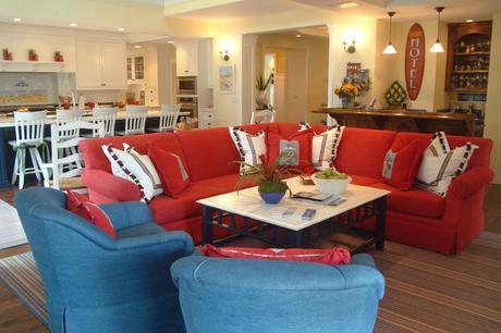 Nantucket in So Cal beach-style-family-room