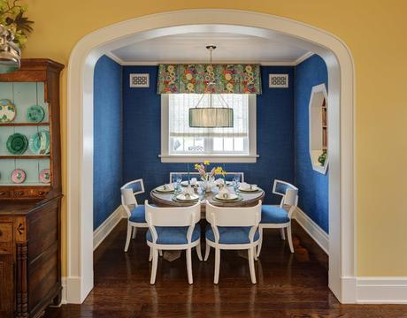 Whimsical Chicago Traditional traditional-dining-room