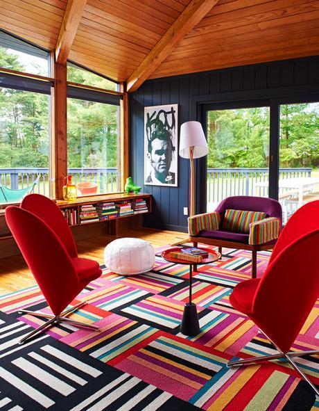 Birght Bazaar Book contemporary-living-room