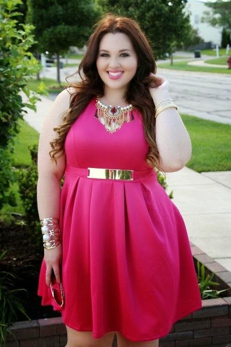 2f4fe8e34 Vestidos rosa para gorditas - Paperblog