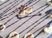 Tarta cuajada plátano amiga teresa