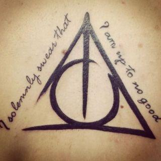 Tattoobooks #1 | Harry Potter.